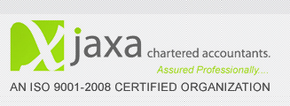 Jaxa Chartered Accountants.